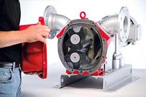 Контроль состояния роторов насоса